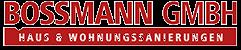 Bossmann GmbH Siegen & Gummersbach | Sanierung und Renovierung aus einer Hand Logo